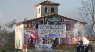 Vés a: VÍDEO Els Mossos desallotgen el centre okupat La Chispa de Lleida