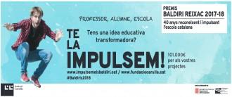 Vés a: Oberta la convocatòria dels Premis Baldiri Reixac per a projectes educatius innovadors