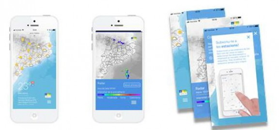 Vés a: El Servei Meteorològic posa en marxa una APP sobre alertes de pluja