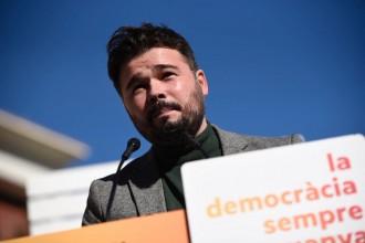 Vés a: Rufián insisteix que Junqueras ha de ser president si Puigdemont no pot ser investit