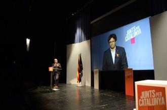 Vés a: Puigdemont intensifica els atacs contra el PSC i reclama votar amb «mentalitat d'Estat»