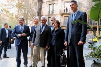 Vés a: Sáenz de Santamaría fa campanya a Barcelona: «La factura econòmica del procés és molt profunda»