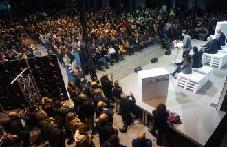 Vés a: Rufián anima el sobiranisme a respondre amb vots la «sang» i els cops de l'1-O