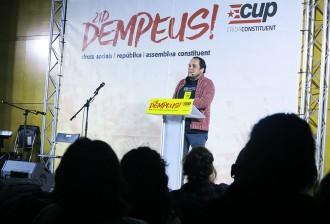 Vés a: La CUP presenta al cinturó que Ciutadans és «el cavall de Troia de l''aznarisme'»