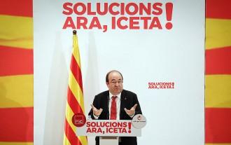 Vés a: Iceta exhibeix el múscul municipalista del PSC i reclama no dividir el país «en dos blocs»