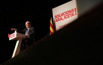 Vés a: Iceta avala Parlon i acusa Puigdemont d'«obrir la porta a la violència»