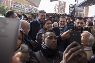 Vés a: El dia de Rajoy a Catalunya: del mercat de Badalona a les caves Freixenet
