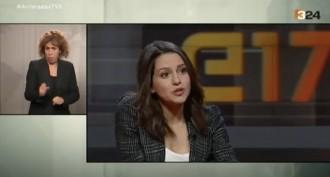 Vés a: VÍDEOS Els moments més punyents de l'entrevista d'Arrimadas a TV3