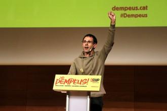 Vés a: La CUP avisa JxCat i ERC: «Si cal tornarem a anar a eleccions perquè es compleixi el mandat popular»