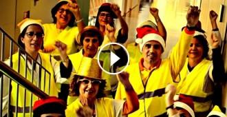 Vés a: VÍDEO L'acció més divertida d'uns treballadors públics per rebutjar el 155