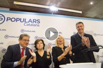 Vés a: VÍDEO Així es vanta Sáenz de Santamaría d'haver «escapçat» els partits independentistes amb la presó i l'exili