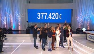 Vés a: «La Marató» estrena el marcador amb 377.420 euros