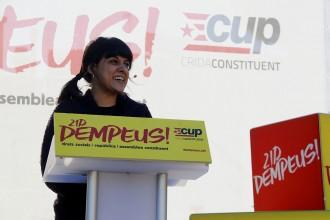Vés a: La CUP adverteix que el 155 serà «una broma» si guanyen els unionistes