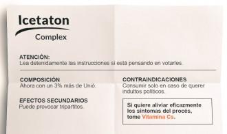 Vés a: Ciutadans explica les contraindicacions de l'«Icetaton»