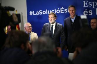 Vés a: Rajoy veu victimisme en Puigdemont i Junqueras: «Buscar greuges és l'especialitat del nacionalisme»