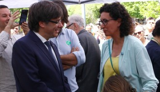 Vés a: La reacció de Puigdemont sobre l'exili de Rovira