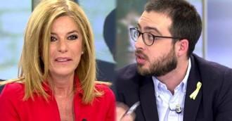 Vés a: Tensió al programa d'Ana Rosa: «El PP governa Catalunya pels seus collons»