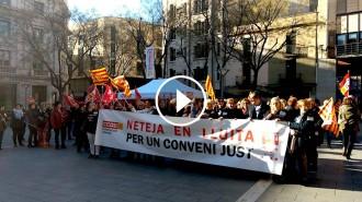 Vés a: Els sindicats amenacen amb una vaga al sector de la neteja si no hi ha increments salarials