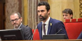 Vés a: Roger Torrent, nou president del Parlament amb els vots independentistes