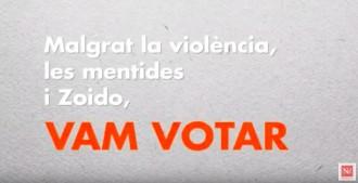 Vés a: El vídeo que desmunta les explicacions de Zoido sobre la violència de l'1-O