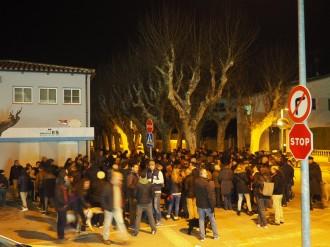 Vés a: Protestes davant d'Aigües de Banyoles pel nomenament de Santi Vila com a director general
