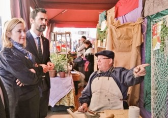 Vés a: Torrent s'estrena al poble de Junqueras: «És una visita obligada»