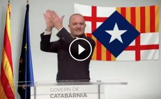 Vés a: VÍDEO Toni Albà es mofa de Tabàrnia i es proclama president de Catabàrnia