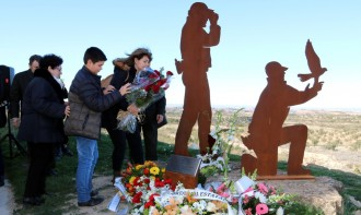 Vés a: Emotiu homenatge als Agents Rurals assassinats per un caçador fa un any a Aspa