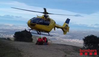 Vés a: Rescatada en helicòpter una excursionista a Montserrat