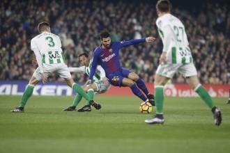 Vés a: El Barça escombra el Betis (0-5) i encarrila la Lliga a meitat de temporada