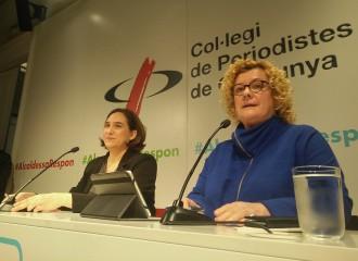 Vés a: Colau anuncia una campanya durant el Mobile per rellançar la imatge de Barcelona