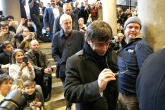 Vés a: La cursa d'obstacles de Puigdemont per explicar el procés (abans i després del 155)