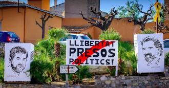 Vés a: Cent dies trobant a faltar els «Jordis»: de la declaració de la República a la incògnita de Puigdemont
