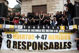 Vés a: L'Audiència de València reobre el cas de l'accident de metro del 2006