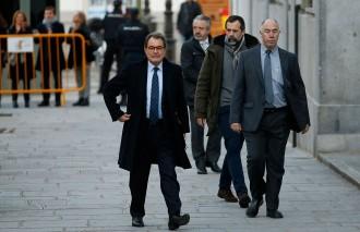 Vés a: Mas reconeix davant Llarena que ell va intentar frenar la declaració d'independència