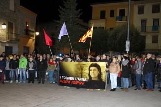 Vés a: Més de 200 persones es concentren a Sallent per donar suport a Anna Gabriel