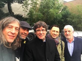 Vés a: Gerard Quintana, després de reunir-se amb Puigdemont: «Abans de 10 dies hi haurà Govern»