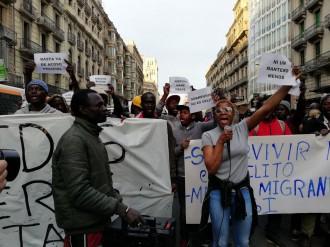 Vés a: Clam dels manters de Barcelona contra la «impunitat» i el «racisme institucional»