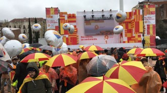 Vés a: Fracàs de la manifestació de Societat Civil Catalana a Madrid
