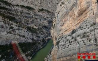 Vés a: Un escalador de 32 anys, ferit greu mentre escalava a Àger