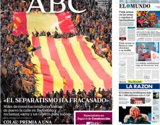 Vés a: PORTADES «El separatismo ha fracasado», a l'«ABC»