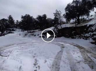 Vés a: VÍDEO i FOTOS Espectacular estampa de Collserola sota la neu