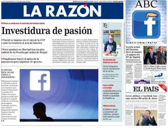 Vés a: PORTADES «Puigdemont buscó el apoyo de la masonería para impulsar el 'procés'», a «La Razón»