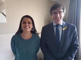 Vés a: Puigdemont i Gabriel es reuneixen per «conjugar esforços» en la internacionalització del procés