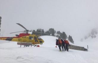 Vés a: Rescaten a Espot un excursionista de 70 anys amb principi de congelació als dits