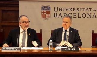 Vés a: Joan Elias (UB): «El finançament de les universitats ja no pot esperar més»