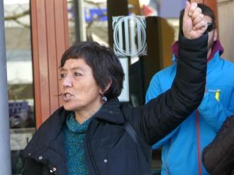 Vés a: VÍDEO La regidora de la CUP de Reus, en llibertat després de negar-se a declarar