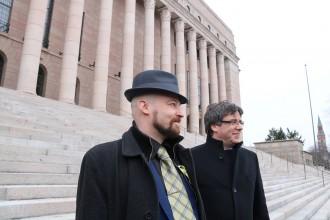 Vés a: Finlàndia admet que no sap on és Puigdemont