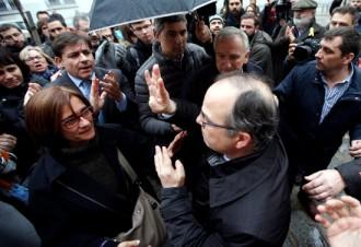 Vés a: Crònica d'un empresonament anunciat: indignació i llàgrimes al Suprem