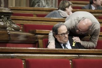 Vés a: JxCat assenyala l'unionisme: «Voleu que Catalunya sigui una immensa presó?»